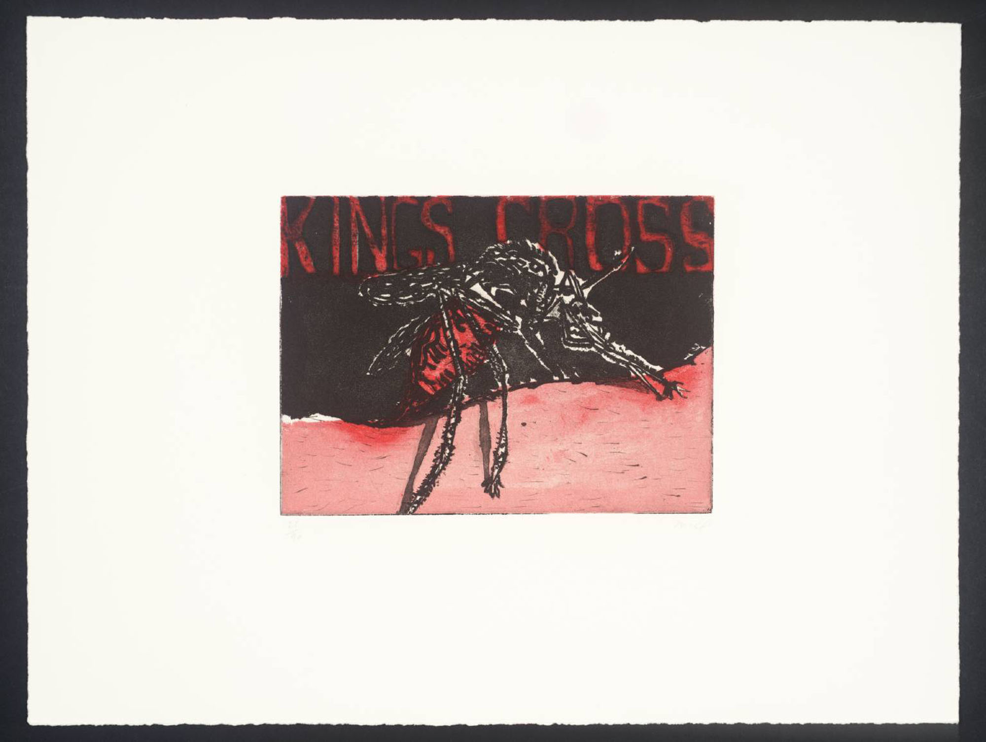 image of Peter Doig's King's Cross Mosquito